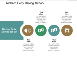 Richard Petty Driving School Ppt Powerpoint Presentation Portfolio Layout Cpb