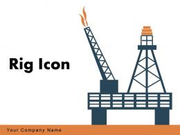 Rig Icon Building Jackhammer Construction Natural Industry