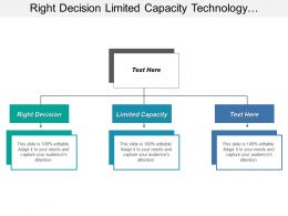 Right Decision Limited Capacity Technology Landscape Cognitive Overload