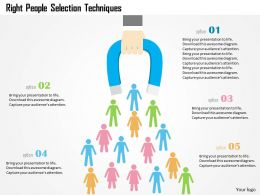right_people_selection_techniques_flat_powerpoint_design_Slide01