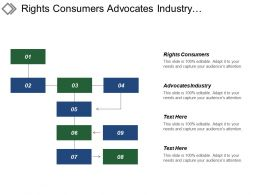 Rights Consumers Advocates Industry Segmentation Analysis Strategy Execution