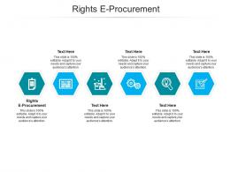 Rights E Procurement Ppt Powerpoint Presentation Icon Show Cpb