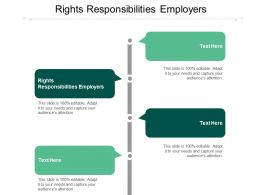 Rights Responsibilities Employers Ppt Powerpoint Presentation Styles Show Cpb