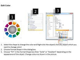 Ring Chart Diagram 10 Stages Powerpoint Slides And Ppt Templates 0412