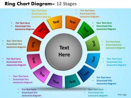 Ring Chart Diagram 12 Stages 12