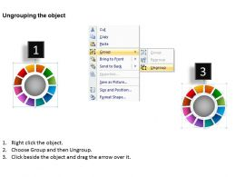 Ring Chart Diagram 12 Stages Powerpoint Slides And Ppt Templates 0412