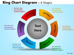 Ring Chart Diagram 6 Stages 25