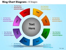 Ring Chart Diagram 8 Stages 20