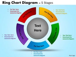 Ring Chart Diagram flow Templates 14