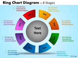 Ring Chart Diagram process Ppt Templates 12