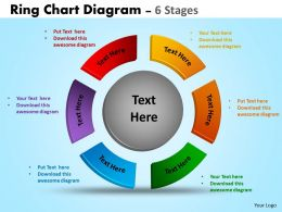 Ring Chart Diagrams Ppt Templates 13