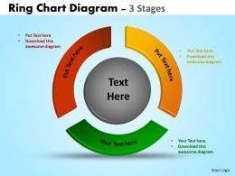Ring Chart Diagrams Ppt Templates 6