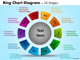 Ring Chart Diagrams Templates 4
