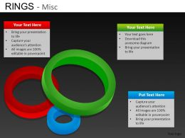 Rings Misc Powerpoint Presentation Slides DB