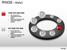 Rings Style 1 Powerpoint Presentation Slides