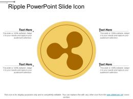 Ripple Powerpoint Slide Icon