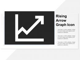 Rising Arrow Graph Icon