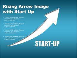 Rising Arrow Image With Start Up