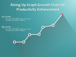 Rising Up Graph Growth Chart For Productivity Enhancement