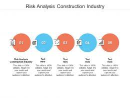 Risk Analysis Construction Industry Ppt Powerpoint Presentation Summary Design Ideas Cpb