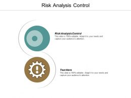 Risk Analysis Control Ppt Powerpoint Presentation Visual Aids Styles Cpb