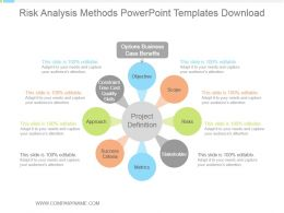 Risk Analysis Methods Powerpoint Templates Download