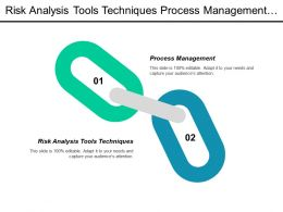 Risk Analysis Tools Techniques Process Management Project Managing Cpb