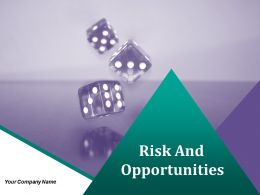 Risk And Opportunities Powerpoint Presentation Slides