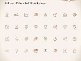 Risk And Return Relationship Icons Location I315 Ppt Powerpoint Presentation Inspiration Format