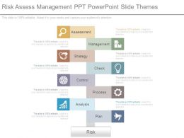 Risk Assess Management Ppt Powerpoint Slide Themes