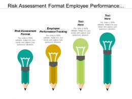 Risk Assessment Format Employee Performance Tracking Risk Management Plan Cpb