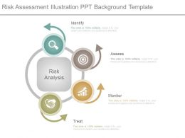 Risk Assessment Illustration Ppt Background Template