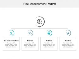 Risk Assessment Matrix Ppt Powerpoint Presentation Model Structure Cpb