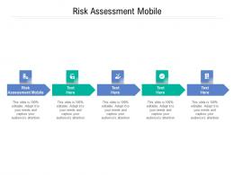 Risk Assessment Mobile Ppt Powerpoint Presentation Infographics Graphic Tips Cpb
