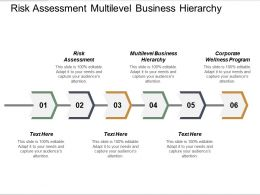 Risk Assessment Multilevel Business Hierarchy Corporate Wellness Program Cpb