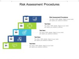 Risk Assessment Procedures Ppt Powerpoint Presentation Styles Demonstration Cpb