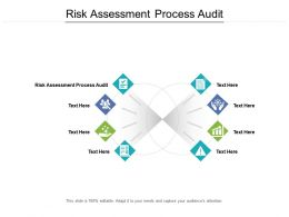 Risk Assessment Process Audit Ppt Powerpoint Presentation Images Cpb
