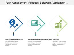 risk assessment process software application development data management cpb
