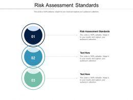 Risk Assessment Standards Ppt Powerpoint Presentation Outline Inspiration Cpb