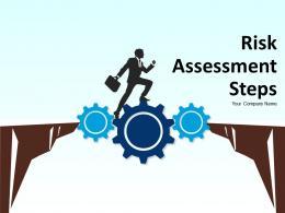 Risk Assessment Step Powerpoint Presentation Slides