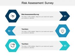 Risk Assessment Survey Ppt Powerpoint Presentation Styles Background Cpb