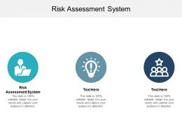 Risk Assessment System Ppt Powerpoint Presentation Layouts Microsoft Cpb