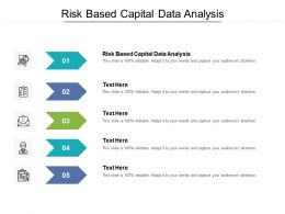 Risk Based Capital Data Analysis Ppt Powerpoint Presentation Summary Layout Ideas Cpb