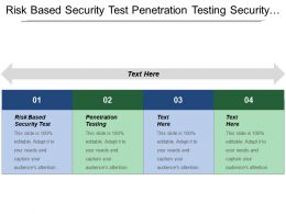 Risk Based Security Test Penetration Testing Security Operation