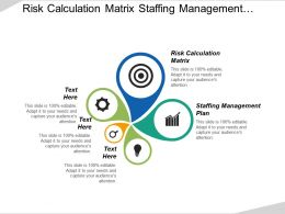 Risk Calculation Matrix Staffing Management Plan Communication Management Process Cpb