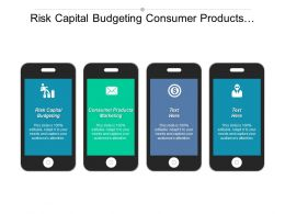 Risk Capital Budgeting Consumer Products Marketing Performance Measurement Cpb