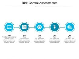 Risk Control Assessments Ppt Powerpoint Presentation Professional Microsoft Cpb