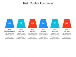 Risk Control Insurance Ppt Powerpoint Presentation Icon Files Cpb