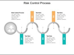 Risk Control Process Ppt Powerpoint Presentation Show Deck Cpb