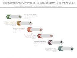 Risk Controls And Governance Practices Diagram Powerpoint Guide